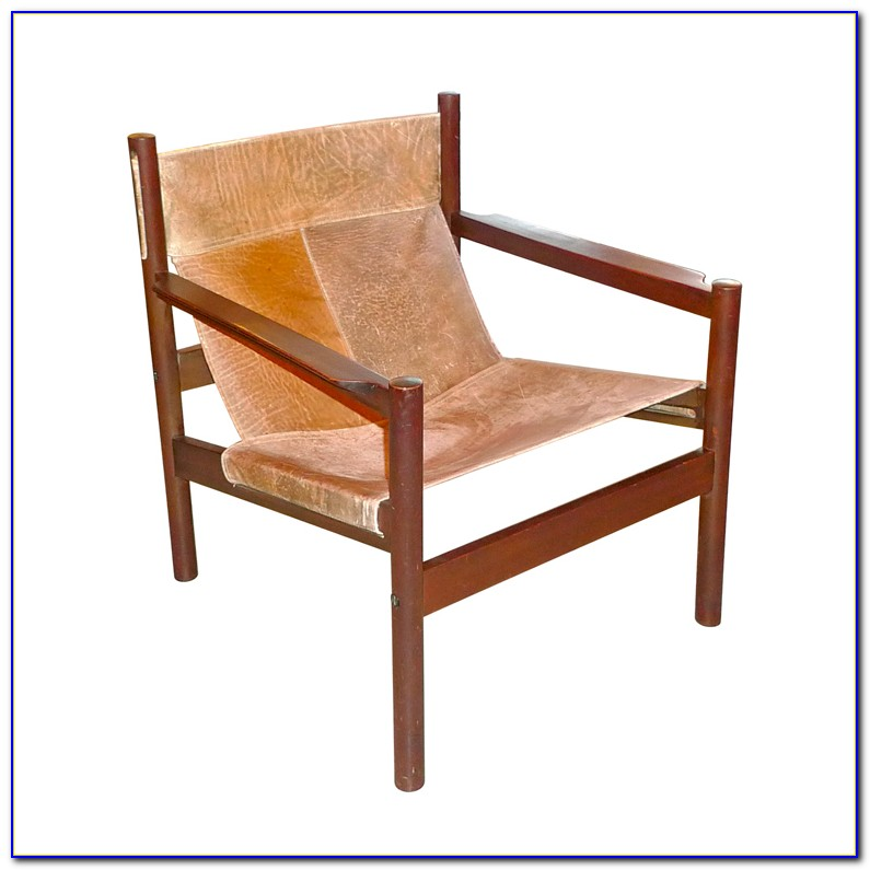 Leather Sling Chair Urban Outfitters