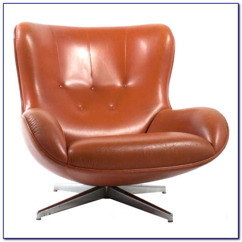 Leather Swivel Chair Modern