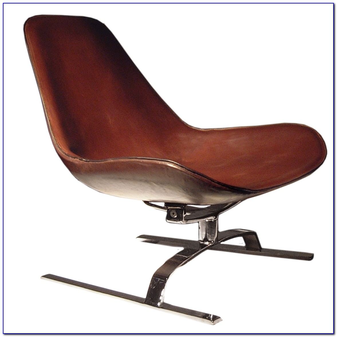 Leather Swivel Chair Office