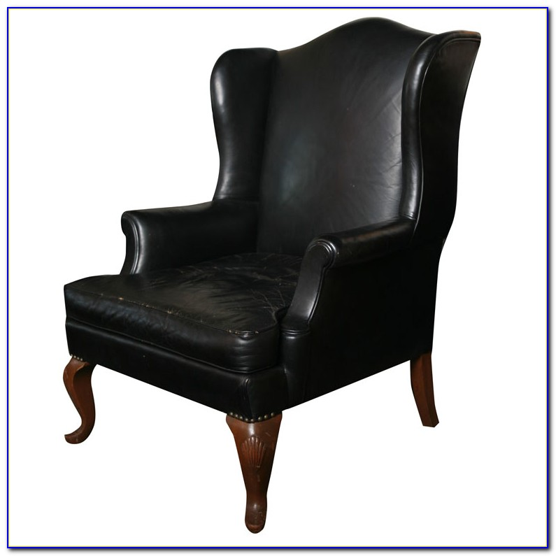 Leather Wingback Chair Cover