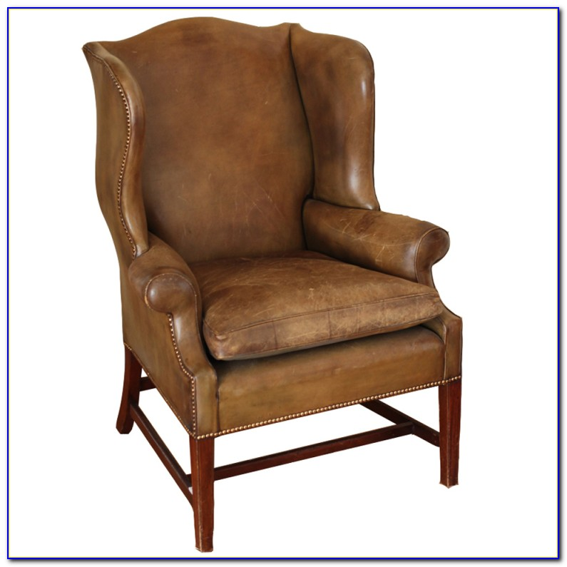 Leather Wingback Chair Recliner
