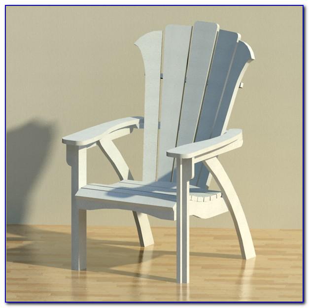 Modern Resin Adirondack Chairs