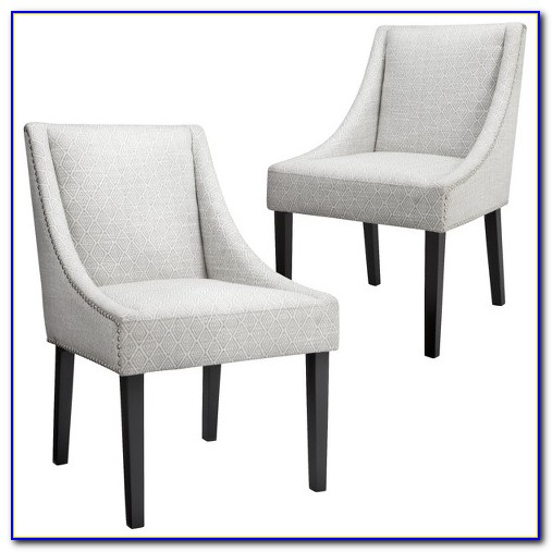Nailhead Dining Chairs Leather
