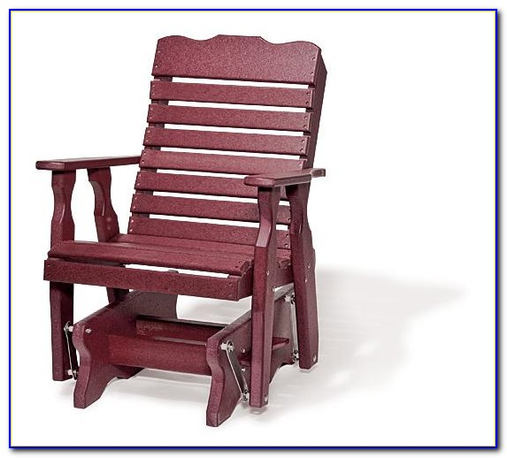 Outdoor Glider Chair Set