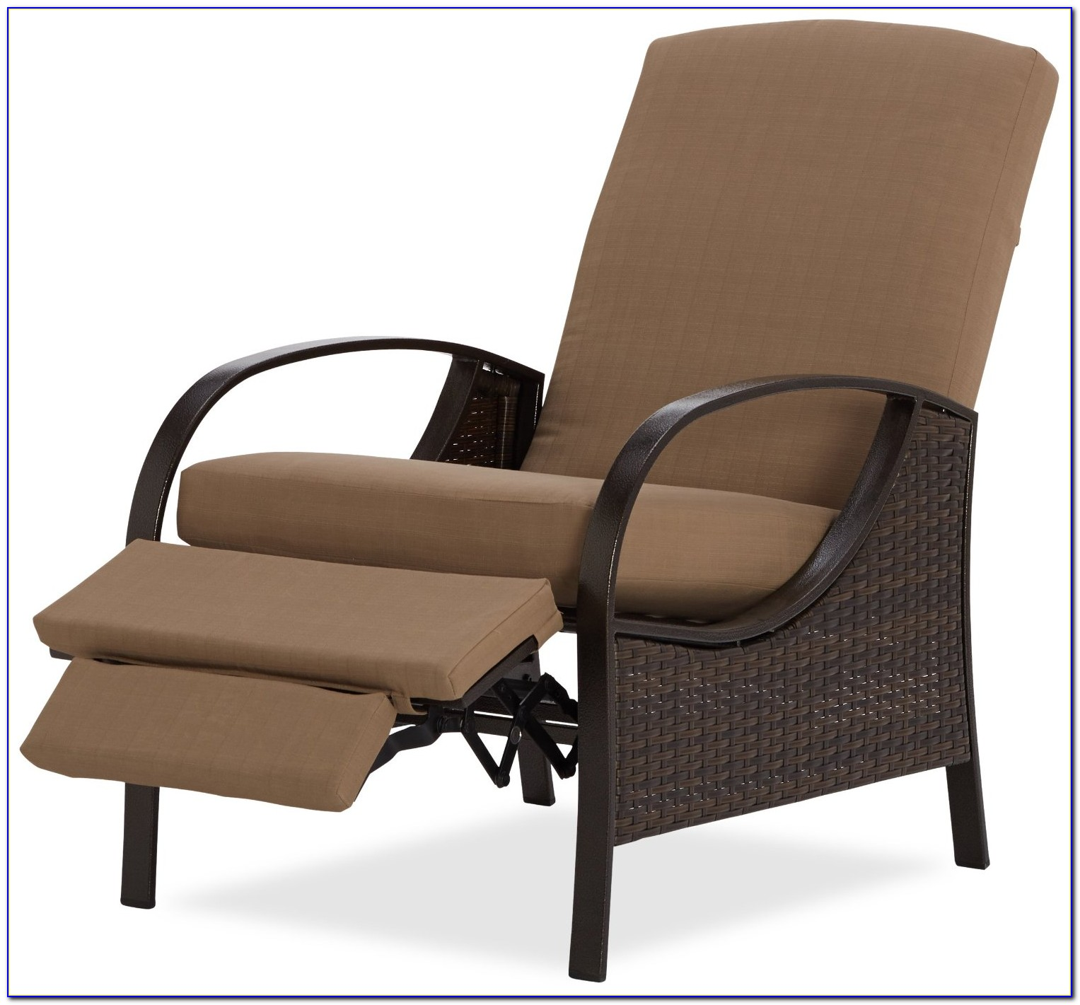 Outdoor Recliner Chair With Ottoman