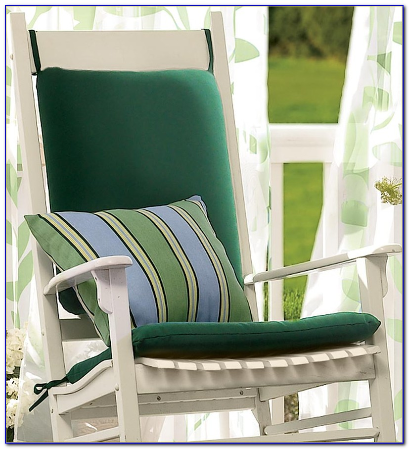 Outdoor Rocking Chair Cushions Sets