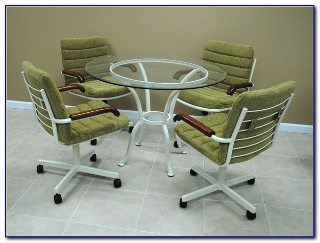 Padded Kitchen Chairs With Casters