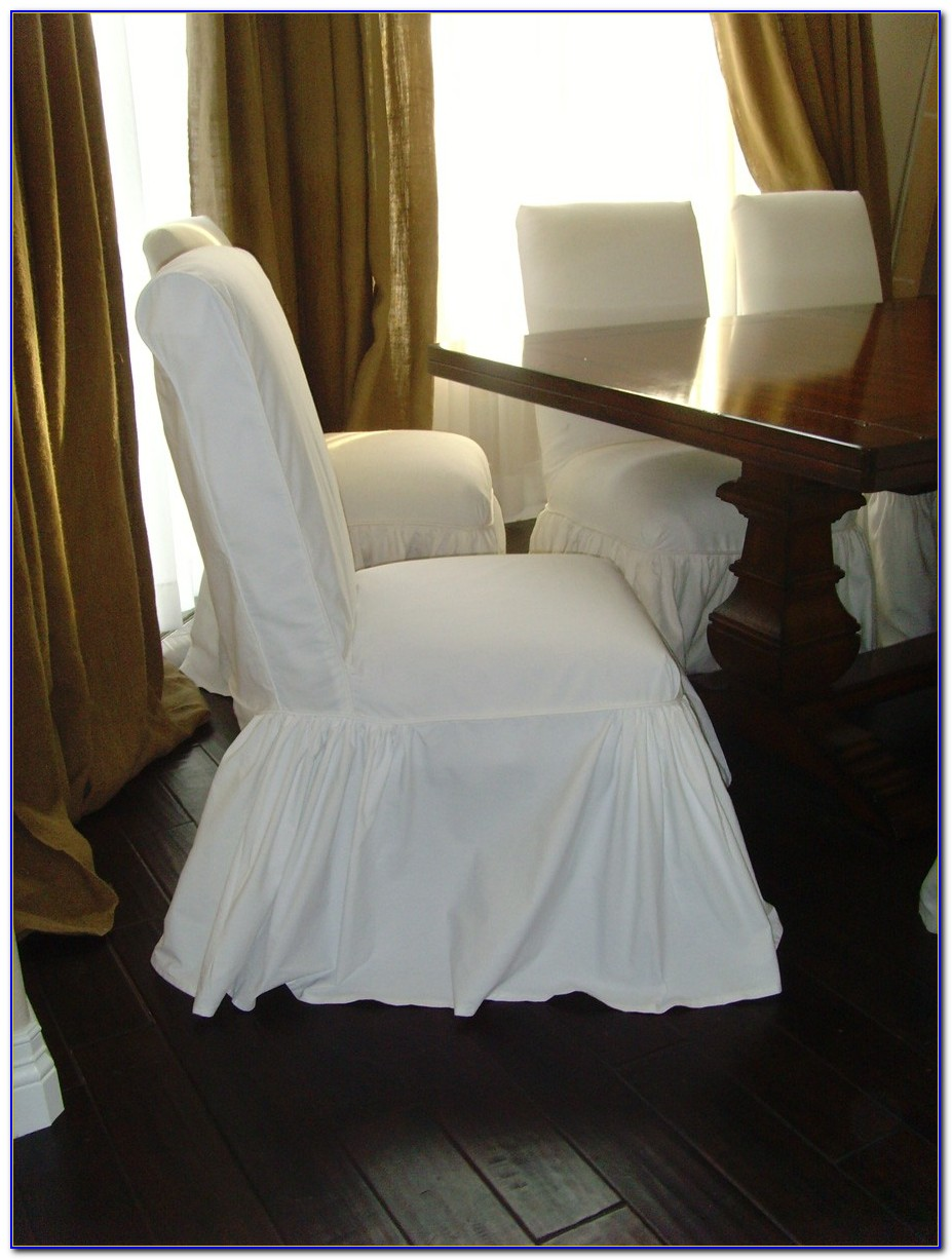 Parson Chair Slipcovers White