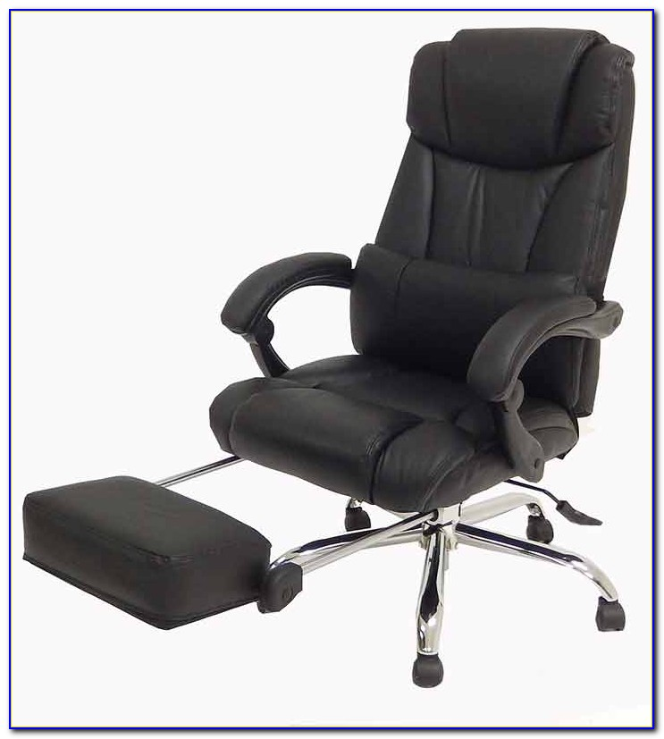 Reclining Office Chair With Headrest