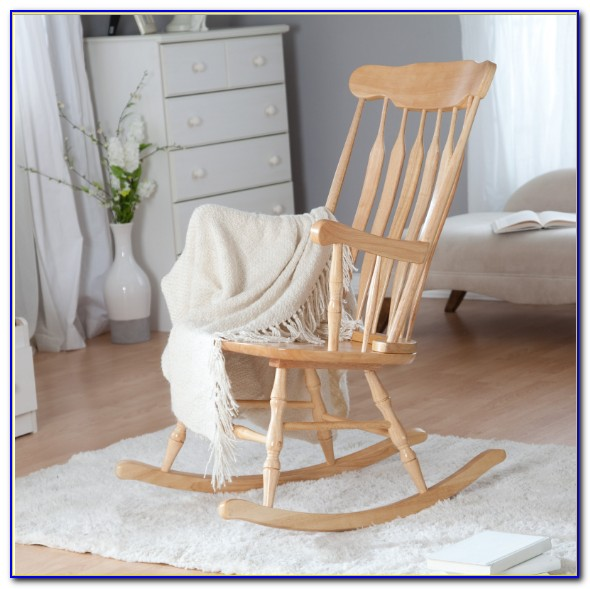 Rocking Chair Nursery Small Space