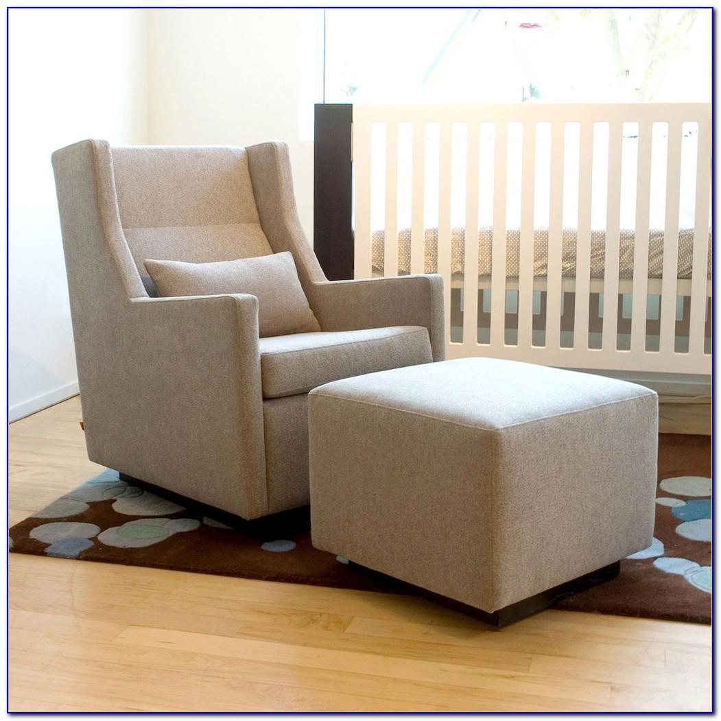 Rocking Chair With Ottoman Ebay