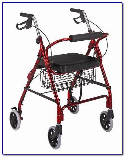 Rollator Transport Wheelchair