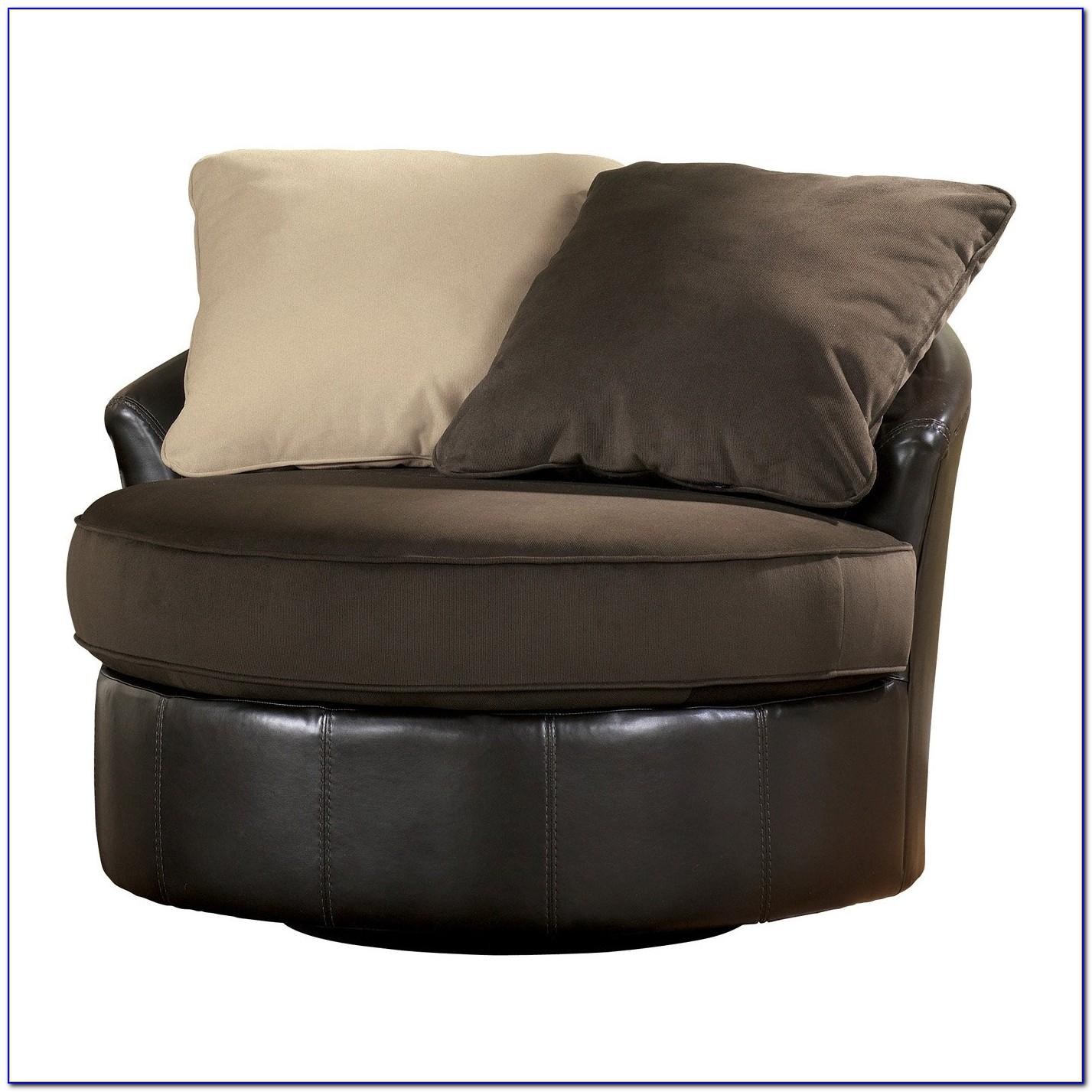 Round Swivel Chair American Furniture
