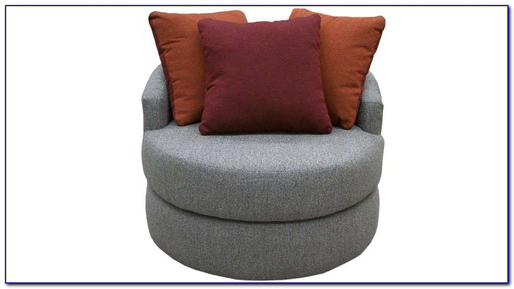 Round Swivel Chair Living Room