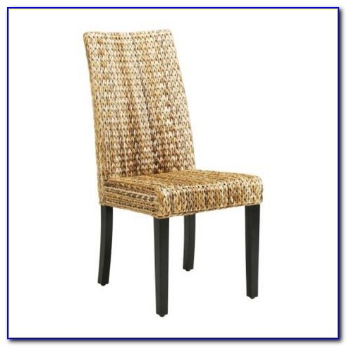 Seagrass Dining Chairs With Cushion
