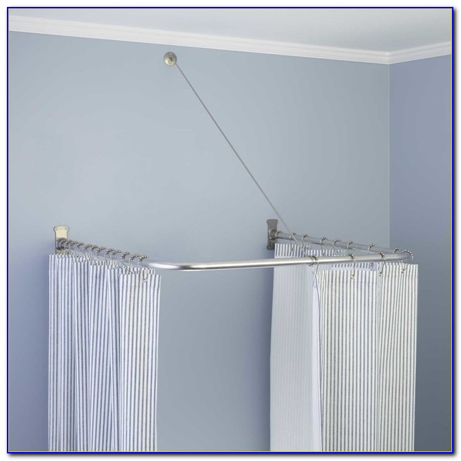 Shower Curtain Rod Holders