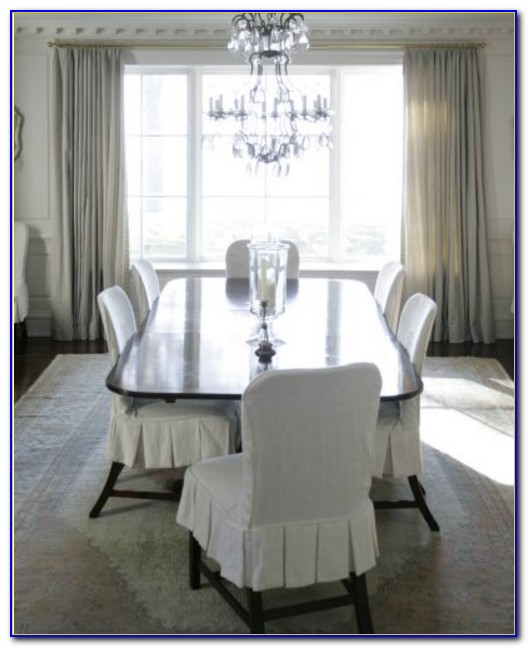 Slipcover Dining Chairs Diy