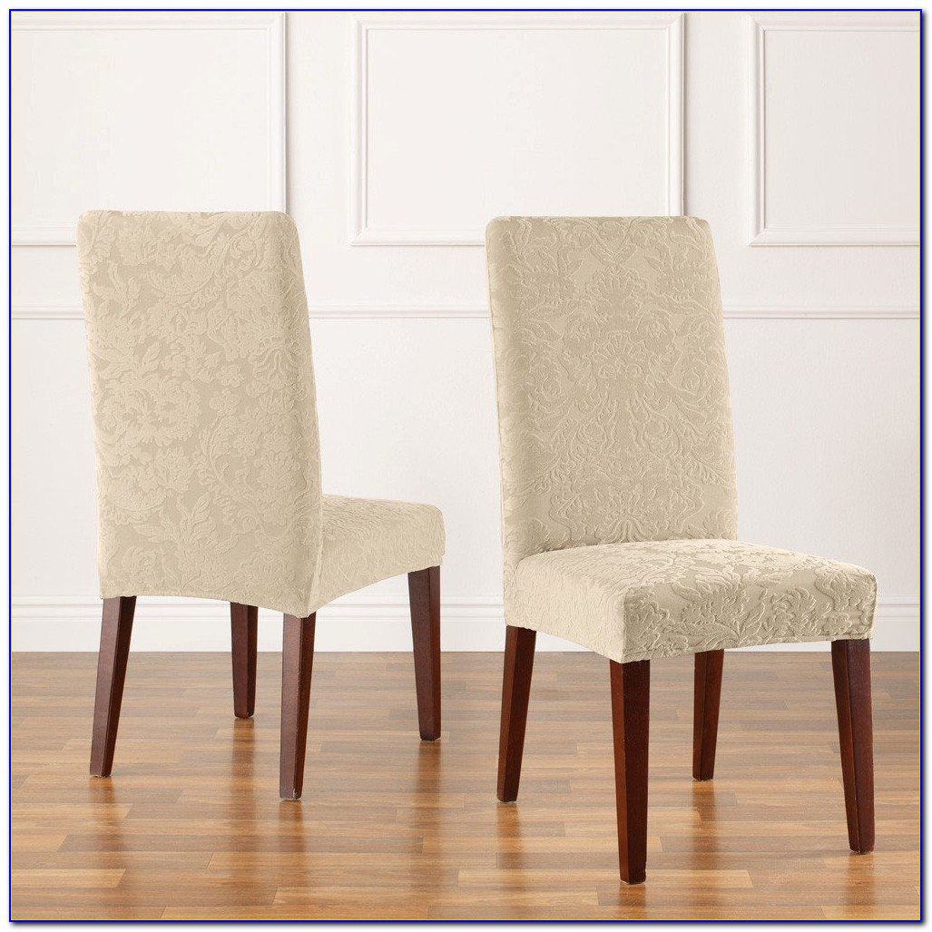 Slipcovers Dining Chairs Without Arms