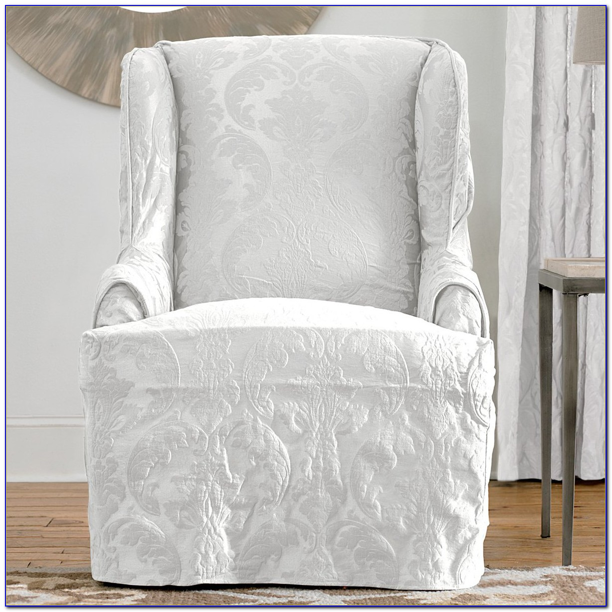 Slipcovers For Wingback Chairs Target