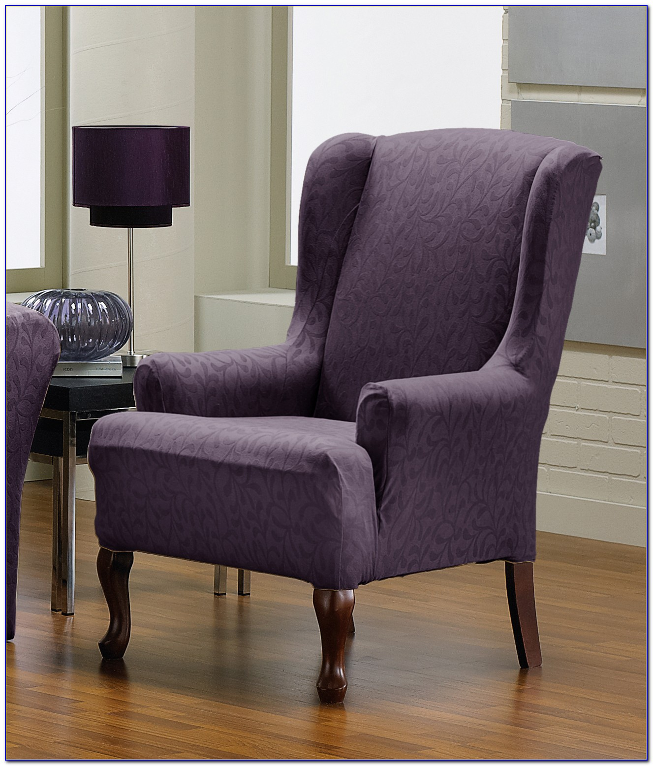 Slipcovers For Wingback Chairs With Square Cushion