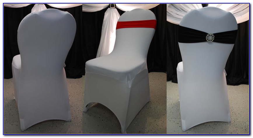 Spandex Chair Covers Ivory