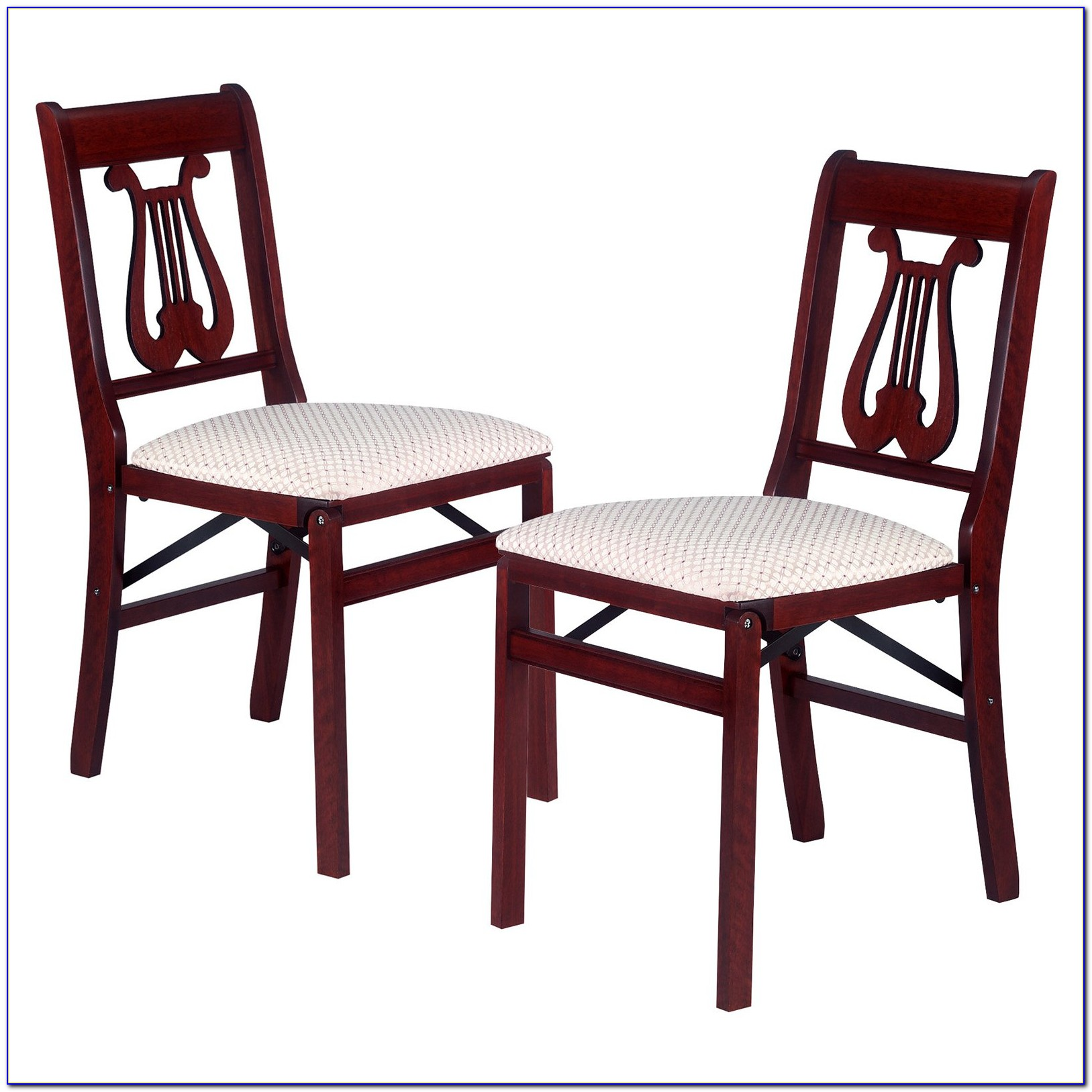 Stakmore Folding Chairs Fruitwood