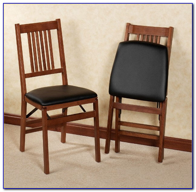 Stakmore Folding Chairs Oak