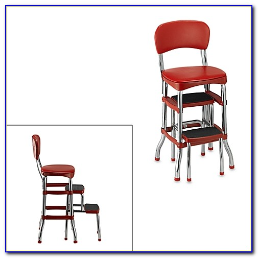 Step Stool Chair Combination
