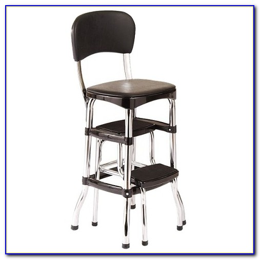 Step Stool Chair Combo