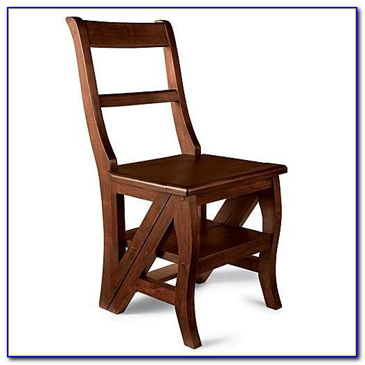 Step Stool Chair With Arms