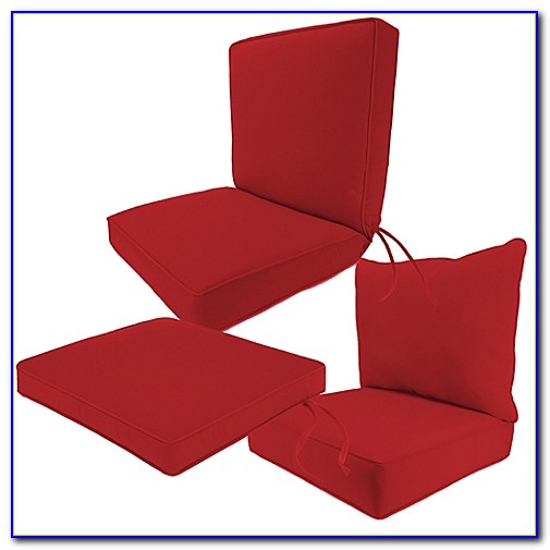 Sunbrella Chair Cushions With Velcro Ties