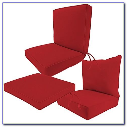 Sunbrella Chair Cushions With Velcro Ties