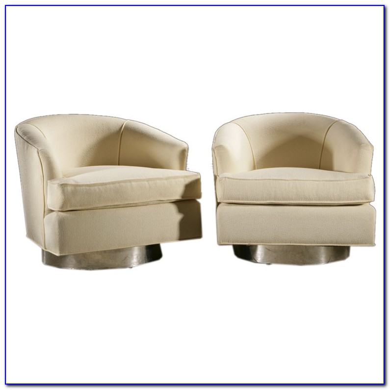 Swivel Club Chair Upholstered