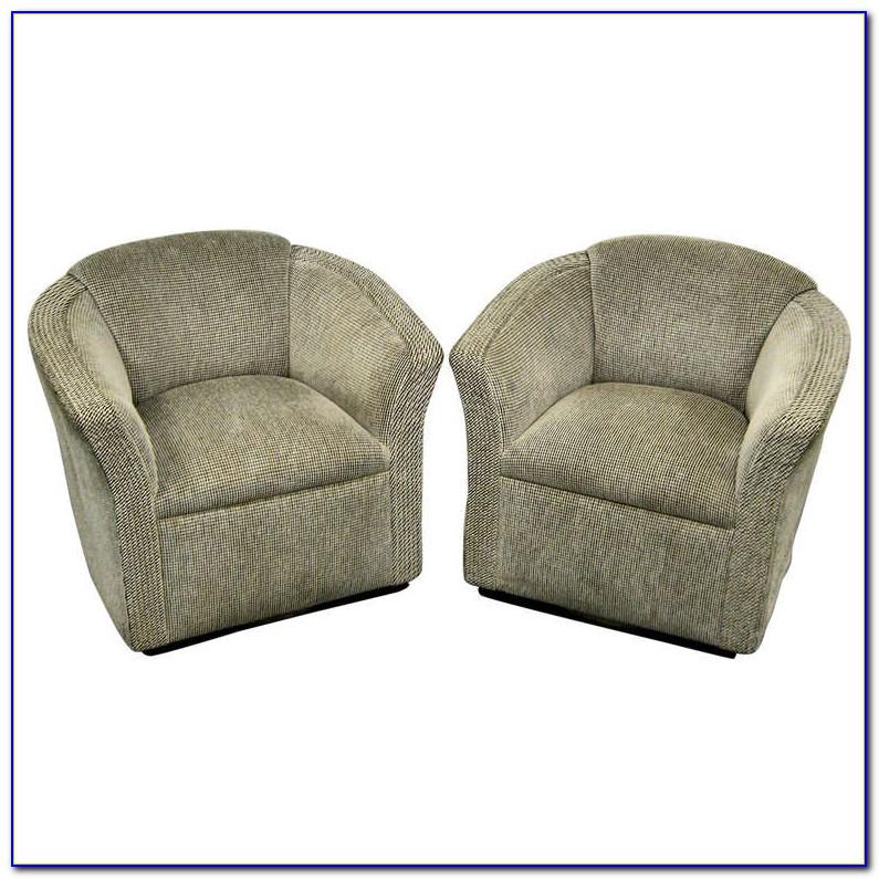Swivel Club Chairs