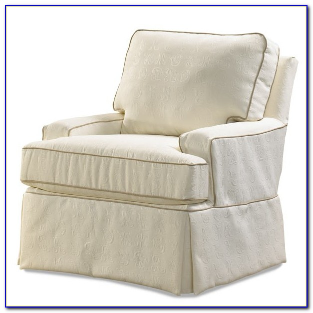 Swivel Glider Chair Cover
