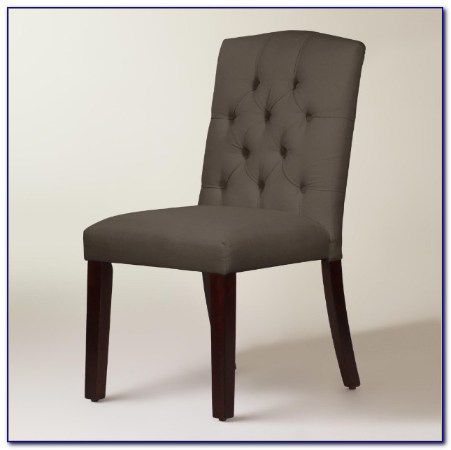 Tufted Dining Chair With Arms