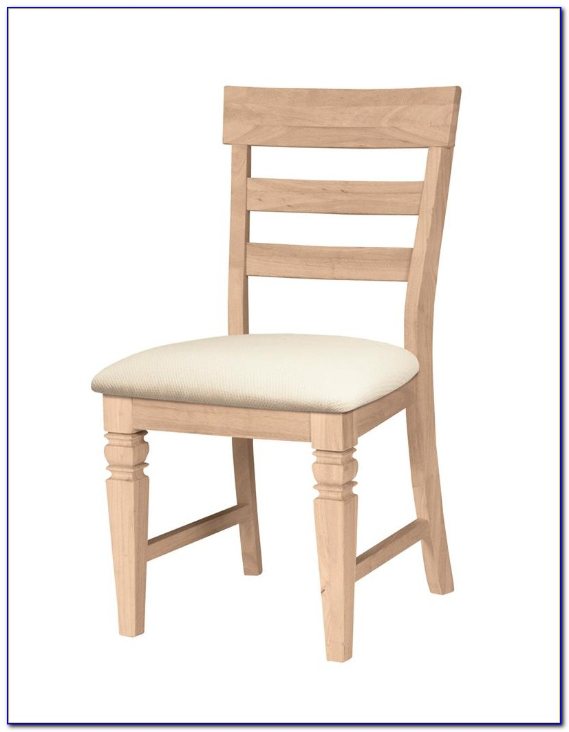 Unfinished Dining Chairs Canada