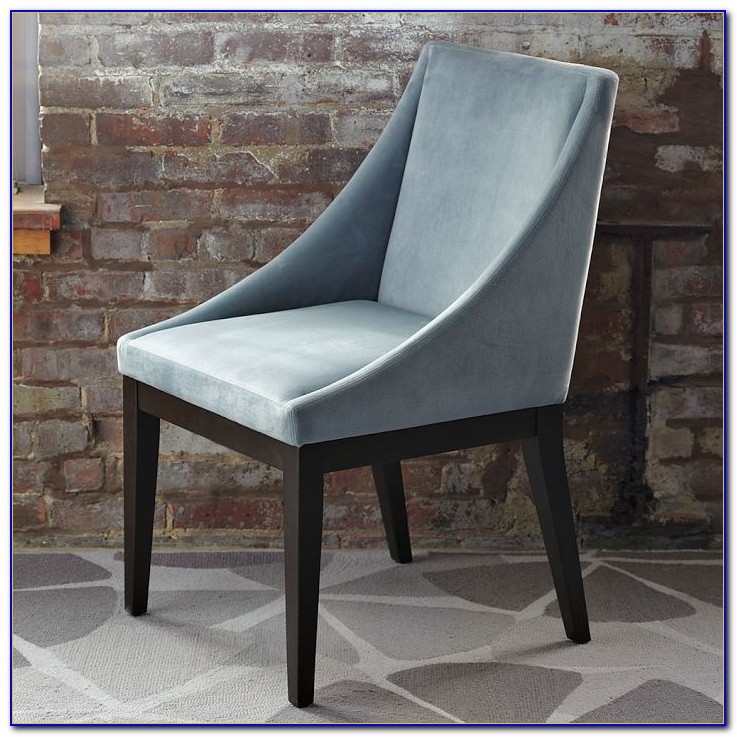 Upholstered Dining Room Chairs Blue