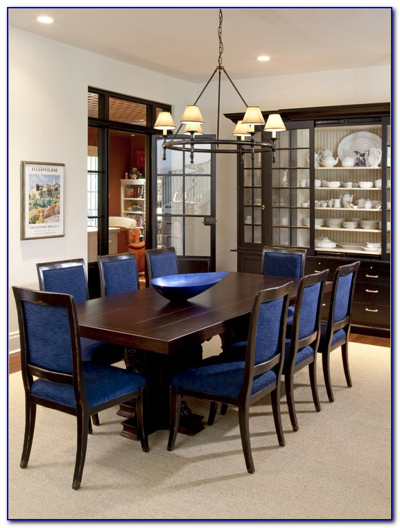 Upholstered Dining Room Chairs With Casters