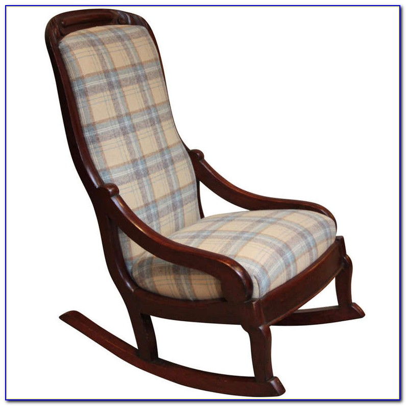 Upholstered Rocking Chair Glider