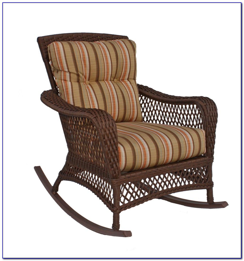 Wicker Rocking Chair Antique
