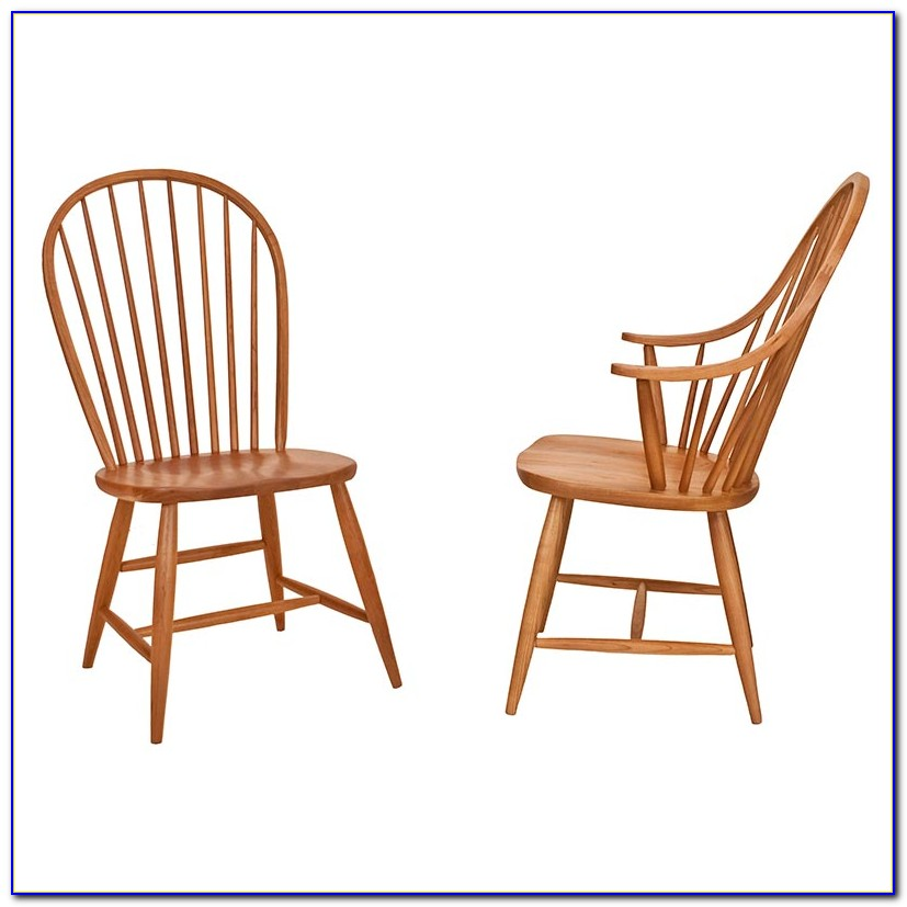 Windsor Dining Chairs With Arms