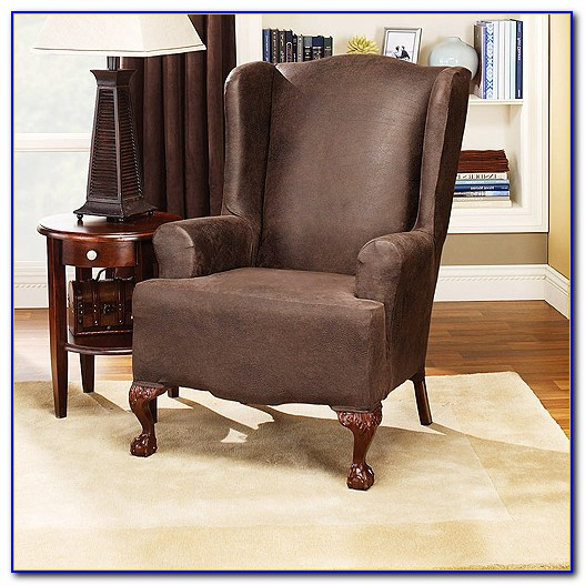 Wing Chair Slipcovers Canada