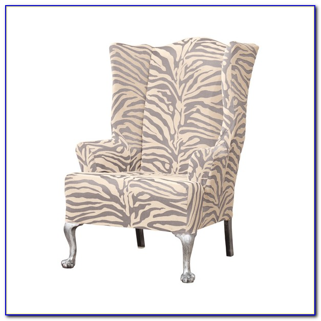 Wingback Chair Slipcovers Bed Bath & Beyond