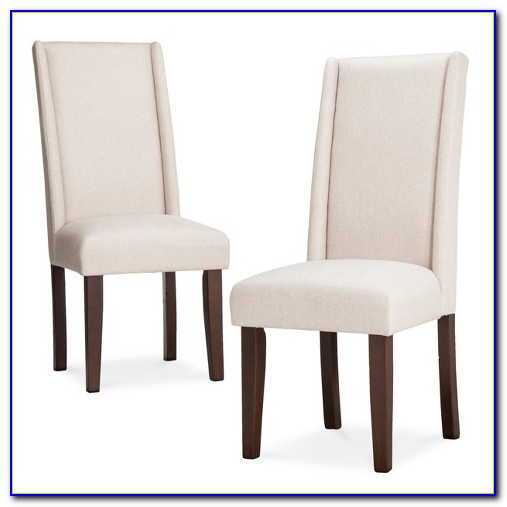 Wingback Dining Chair With Arms