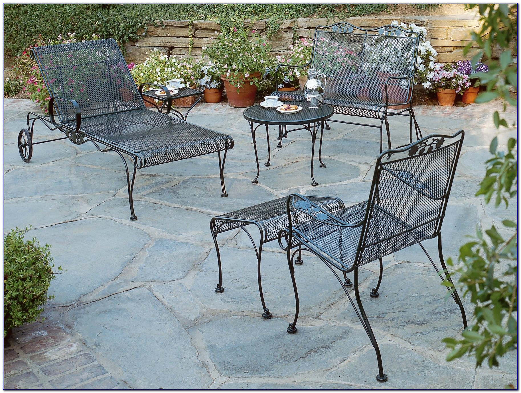 Wrought Iron Patio Chairs And Tables
