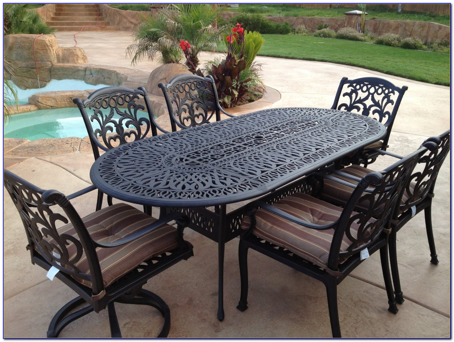 Wrought Iron Table And Chairs Ebay
