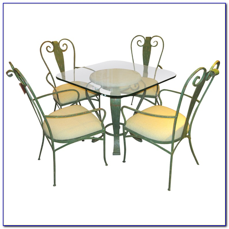 Wrought Iron Table And Chairs For Garden