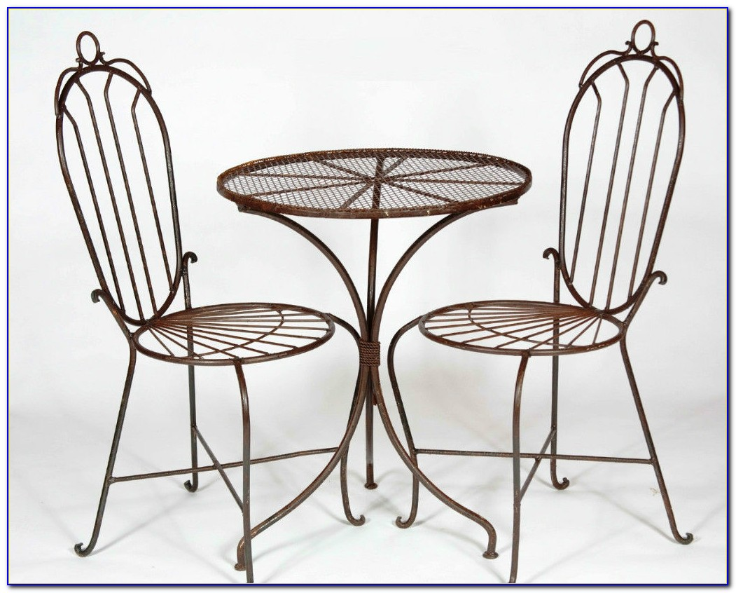 Wrought Iron Table And Chairs For Patio