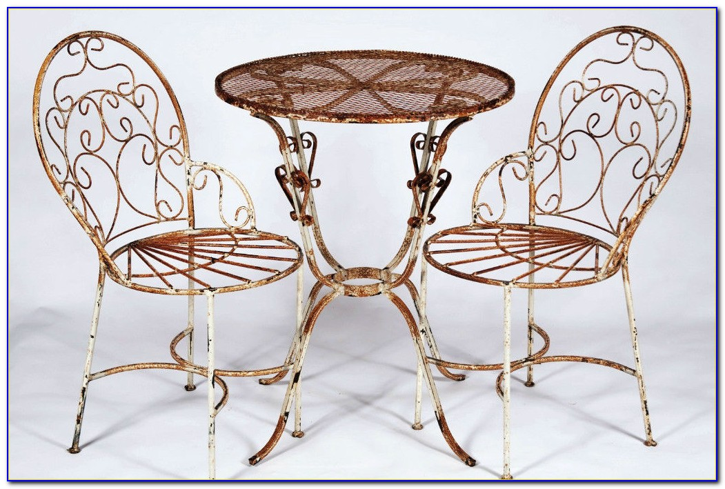 Wrought Iron Table And Chairs Indoor